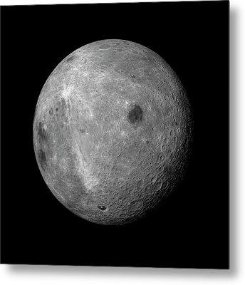 Far Side Of The Moon Metal Print by Detlev Van Ravenswaay