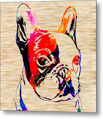 French Bulldog Metal Print by Marvin Blaine