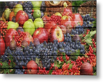 Fruit Metal Print by Joe Hamilton