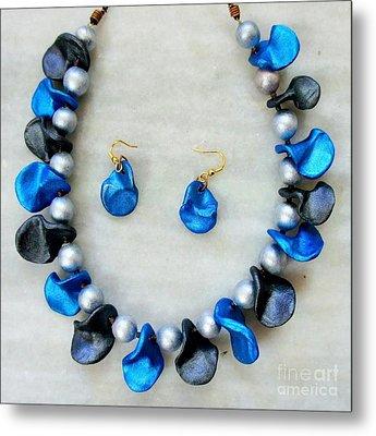 Jewellery Metal Print by 48craft