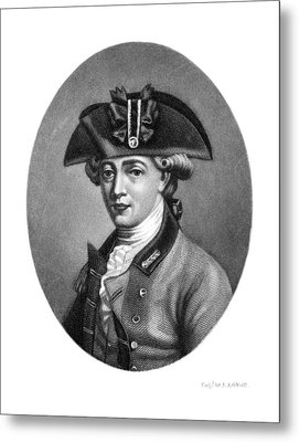 John Andre (1751-1780) Metal Print by Granger