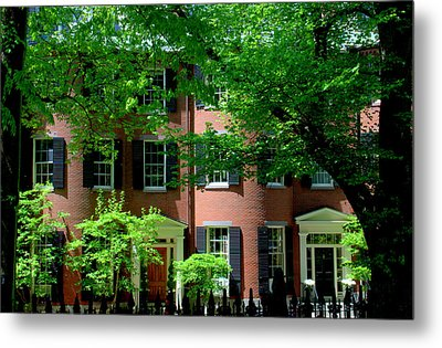 10 Louisburg Sq Beacon Hill Metal Print