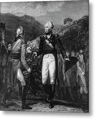 Saratoga Surrender, 1777 Metal Print