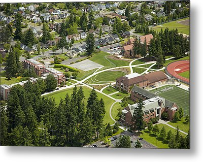 University Of Puget Sound U.p.s., Tacoma Metal Print