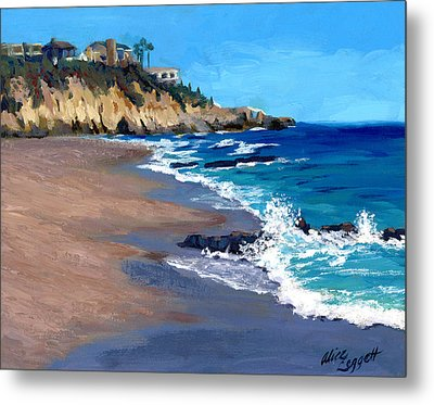 1000 Steps Beach In Laguna Beach California Metal Print