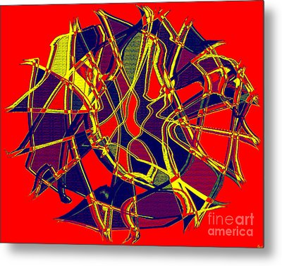 1010 Abstract Thought Metal Print by Chowdary V Arikatla