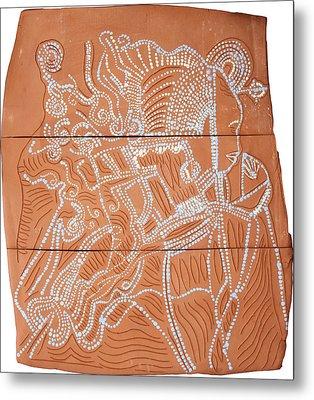 Bikira Maria Metal Print by Gloria Ssali
