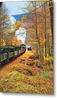 Cass Scenic Railroad Metal Print by Mary Almond