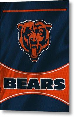 Chicago Bears Uniform Metal Print by Joe Hamilton