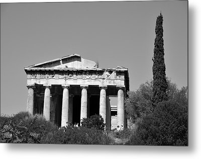 Hephaestus Temple Metal Print by George Atsametakis