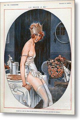 La Vie Parisienne  1926 1920s France Cc Metal Print by The Advertising Archives