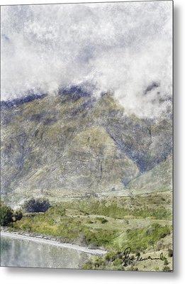 Lake Wakatipu Metal Print