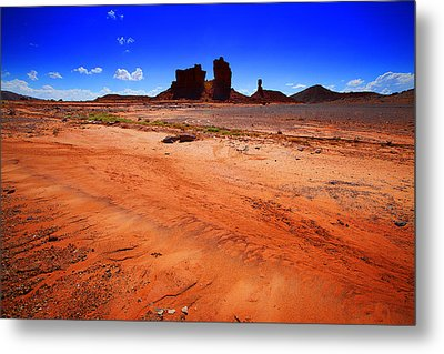 Monument Valley Utah Usa Metal Print