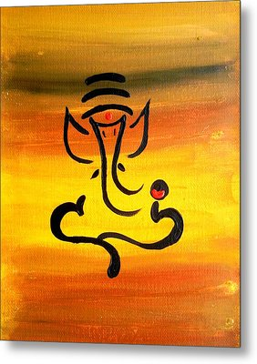 11 Nandana- Son Of Lord Shiva Metal Print