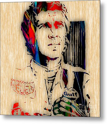 Steve Mcqueen Collection Metal Print