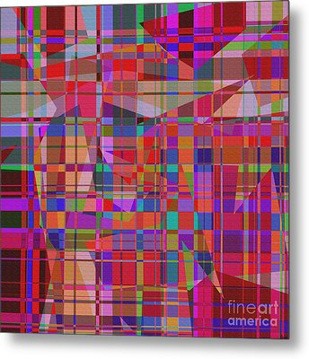 1131 Abstract Thought Metal Print