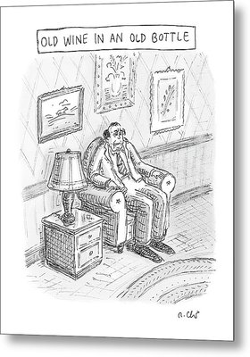 New Yorker June 2nd, 2008 Metal Print by Roz Chast