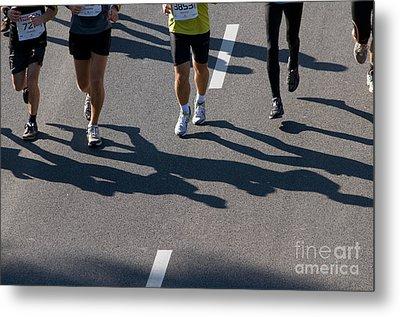 11th Poznan Marathon Metal Print by Michal Bednarek