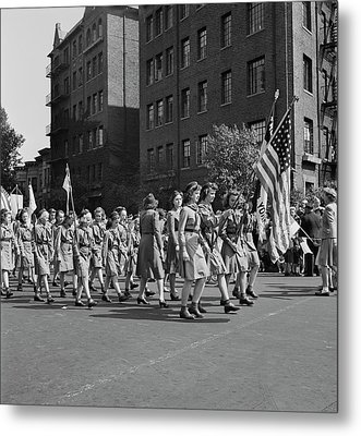 Anniversary Day Parade Of The Sunday Metal Print by Stocktrek Images