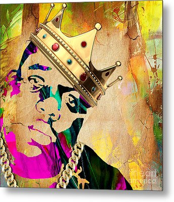 Biggie Collection Metal Print by Marvin Blaine