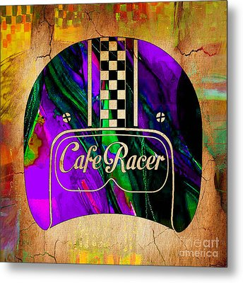 Cafe Racer Metal Print by Marvin Blaine
