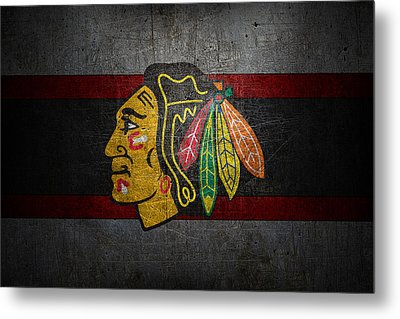 Chicago Blackhawks Metal Print