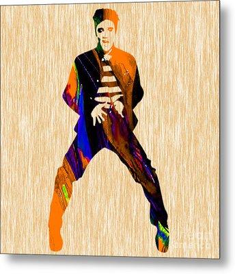 Elvis Presley Metal Print by Marvin Blaine