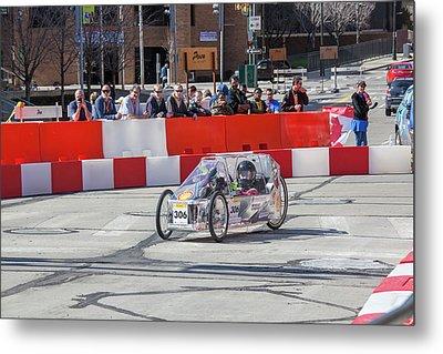 Fuel-efficient Vehicle Competition Metal Print