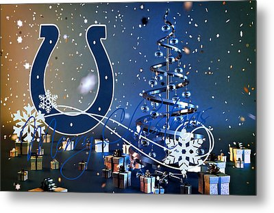 Indianapolis Colts Metal Print