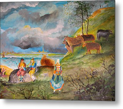 Landscape Metal Print by Egidio Graziani