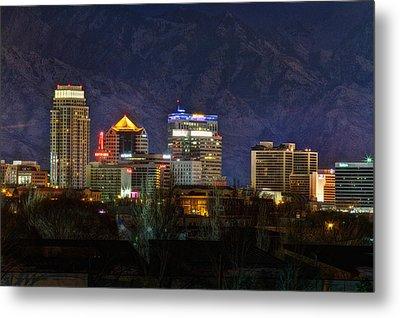 Salt Lake City Utah Metal Print by Utah Images