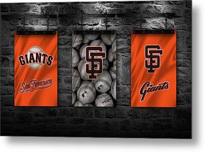 San Francisco Giants Metal Print by Joe Hamilton