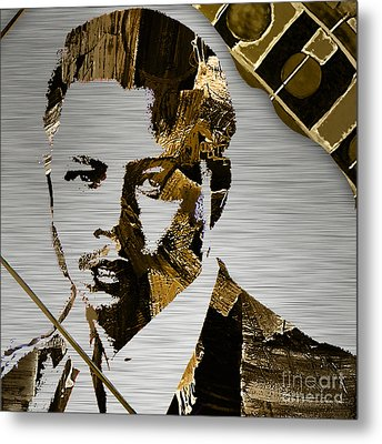 Terrence Howard Collection Metal Print by Marvin Blaine