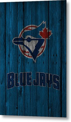 Toronto Blue Jays Metal Print by Joe Hamilton