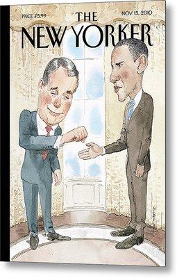 New Yorker November 15th, 2010 Metal Print by Barry Blitt