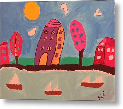 1231 Lakeshore Dr Metal Print by Ronald Weatherford