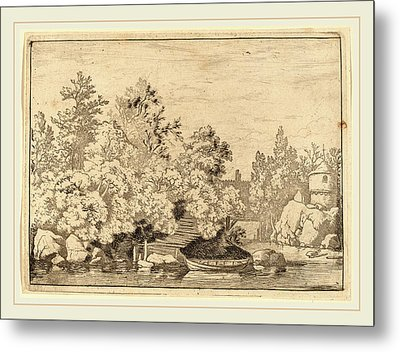 Allart Van Everdingen Dutch, 1621-1675 Metal Print
