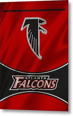 Atlanta Falcons Uniform Metal Print by Joe Hamilton