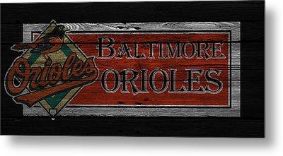 Baltimore Orioles Metal Print