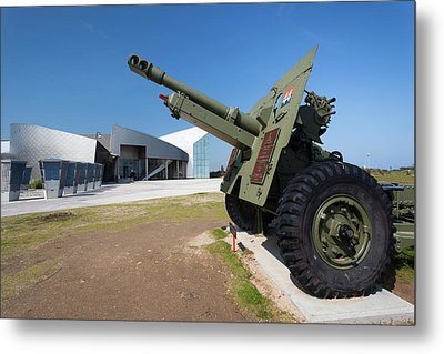 France, Normandy, D-day Beaches Area Metal Print by Walter Bibikow