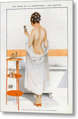 La Vie Parisienne  1916 1910s France Cc Metal Print by The Advertising Archives