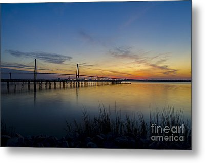 Metal Print featuring the photograph Peacefull Hues Of Orange And Yellow  by Dale Powell