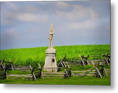 132 Pennsylvania Volunteer Infantry - Antietam Maryland Metal Print by Bill Cannon