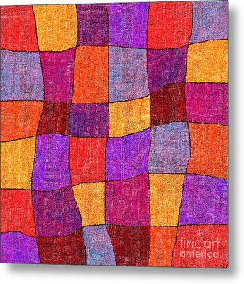 1343 Abstract Thought Metal Print