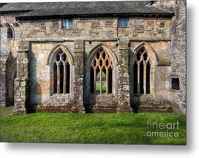 13th Century Abbey Metal Print by Adrian Evans