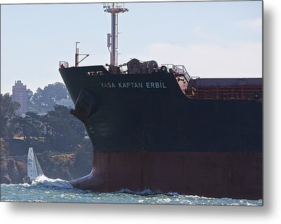 Bay Traffic Metal Print by Steven Lapkin
