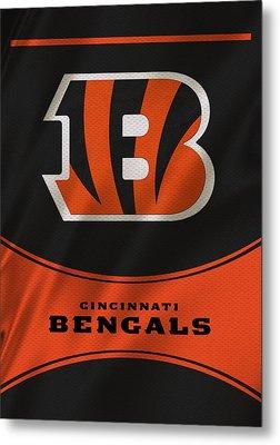 Cincinnati Bengals Uniform Metal Print by Joe Hamilton
