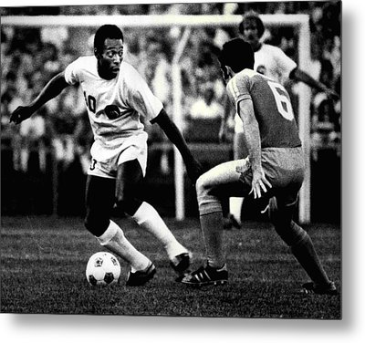 Pele Metal Print by Retro Images Archive
