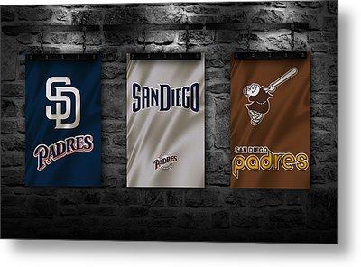 San Diego Padres Metal Print by Joe Hamilton