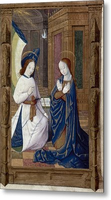 The Annunciation Metal Print by Granger